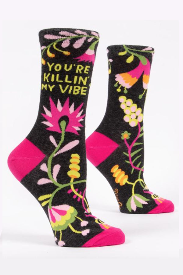 Crew Socks | Killin' My Vibe