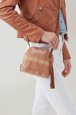 Nash Leather Crossbody Bag | Desert Tie Dye