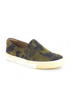 Noella Slip On Sneakers | Military Suede
