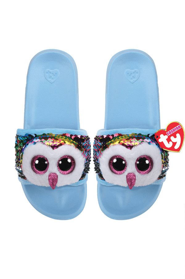 Reversible Sequin Slides | Owen Owl