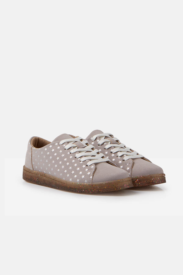 Solena Cupsole Sneakers | Lilac Star