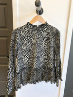 Print Long Sleeve Top