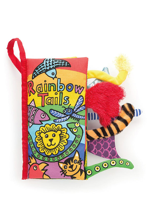 Soft Activity Book | Rainbow Tails
