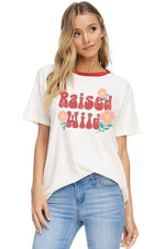 Raised Wild Graphic Tee