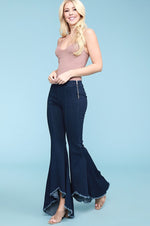 Wave Super Flares | Dark Denim