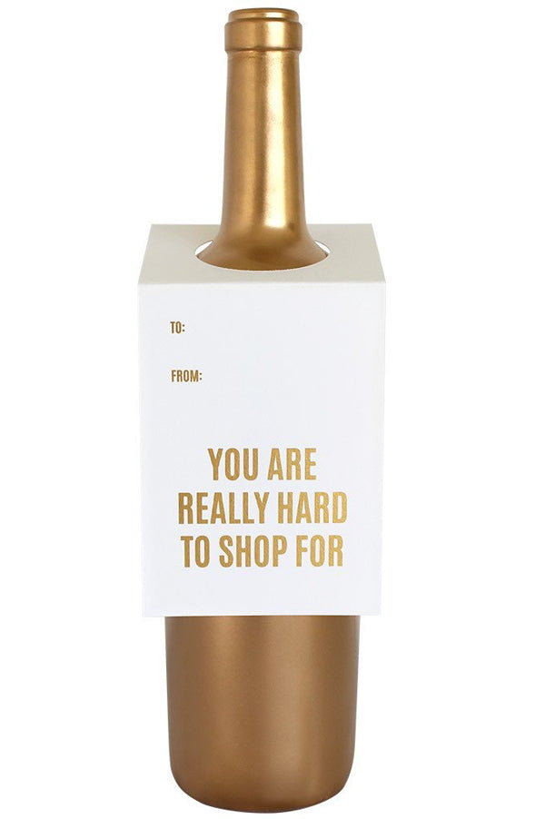 Wine & Spirit Tag | Hard To Shop For
