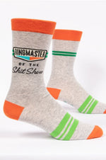 Men's Crew Socks | Ringmaster Shit Show