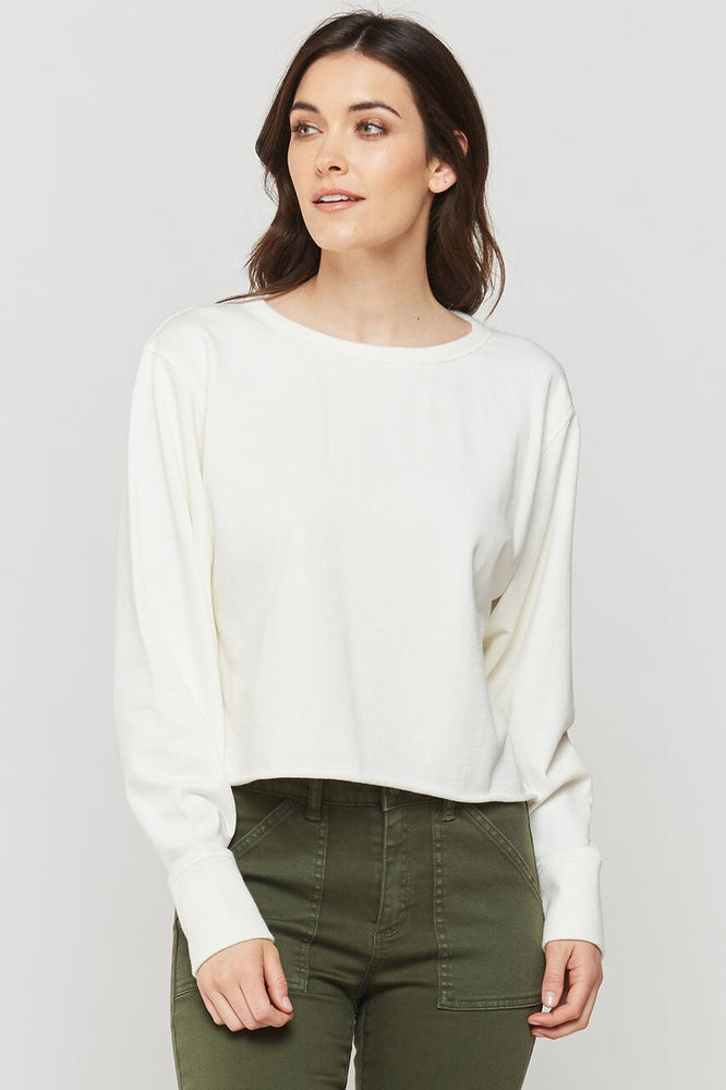 Rolene Cuff Off Top | Ivory