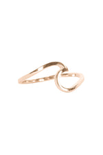 Wave Ring | Rose Gold