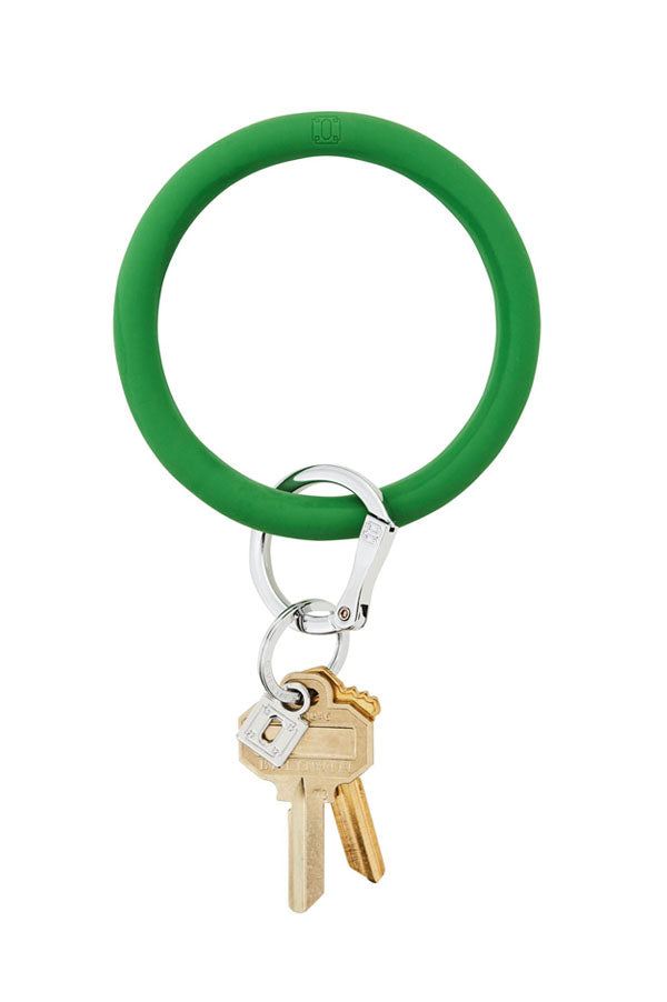 Silicone Key Ring | Shamrock
