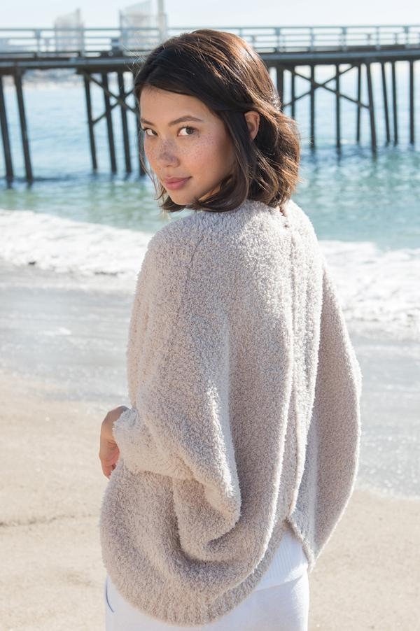 Cozy Chic Shrug | Stone