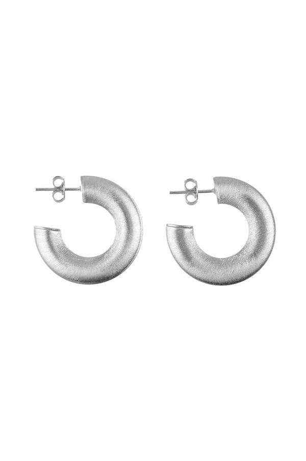 Serena Hoops | Mini Silver