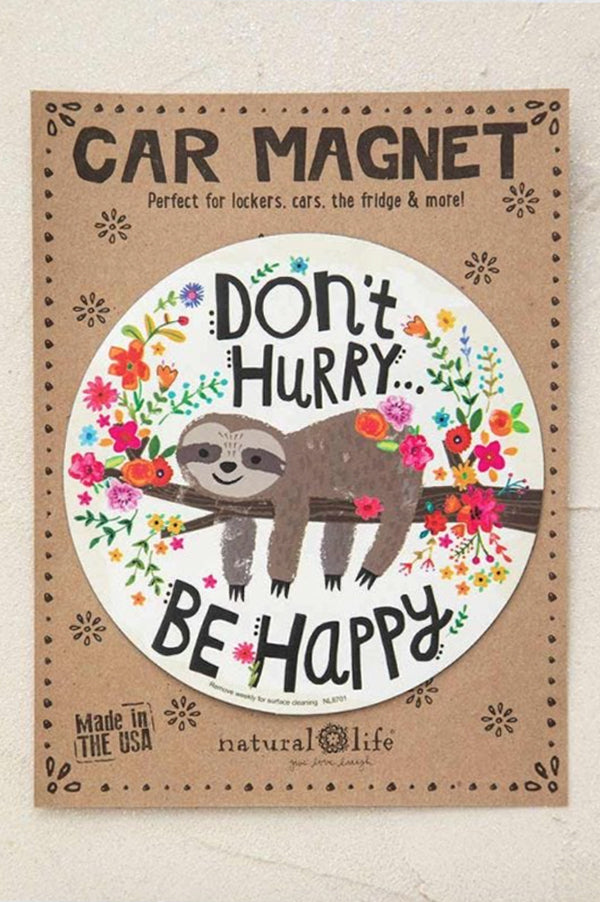 Car Magnent | Advice From A Sloth