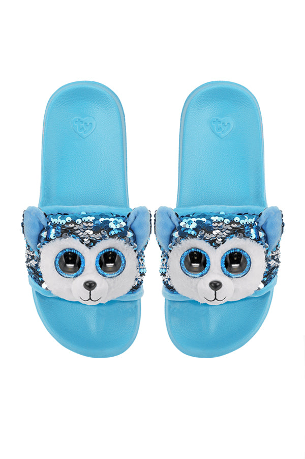 Reversible Sequin Slides | Slush Husky