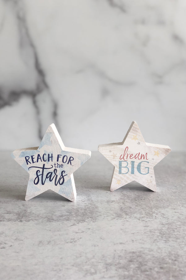 Small Shapes Wood Sign | Stars