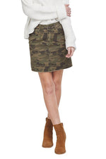 Stevie Mini Skirt | Camo