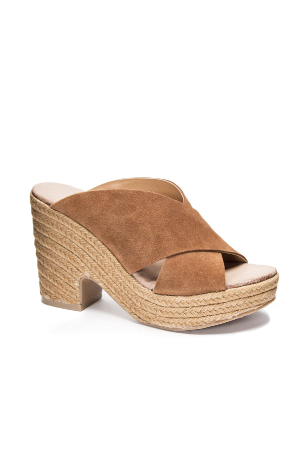 Quay Wedges | Rusty Brown