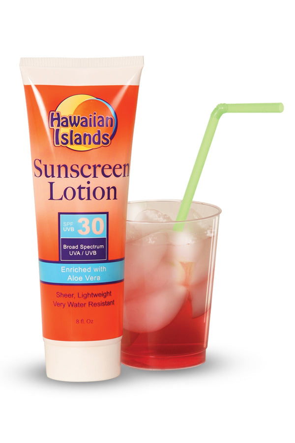 Sunscreen SPF 30 Flask
