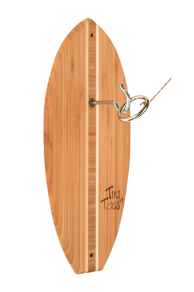 Surfboard Tiki Toss | The Original Hook + Ring Game