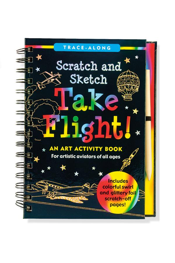 Trace Along Scratch & Sketch | Take Flight
