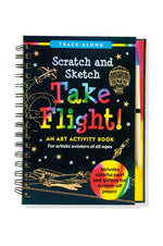 Trace Along Scratch & Sketch Take Flight
