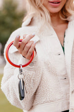 Luxe Key Ring | Take Me Tangerine