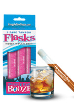 Reusable Booze Tubes w/ Caps