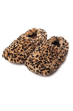 Warmies Cozy Plush Slippers | Tawny