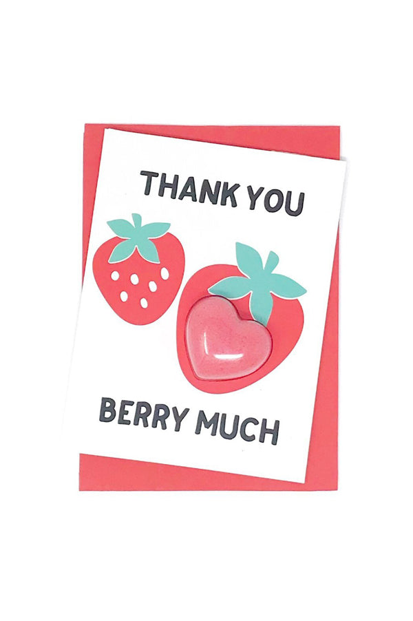 Bath Fizzy Card | Thank You Berry Much