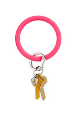 Silicone Key Ring | Tickled Pink