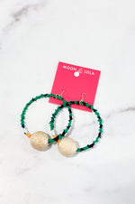 TOGO Tchamba Earrings | Green