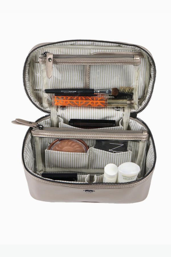 Getaway Train Case | Pewter