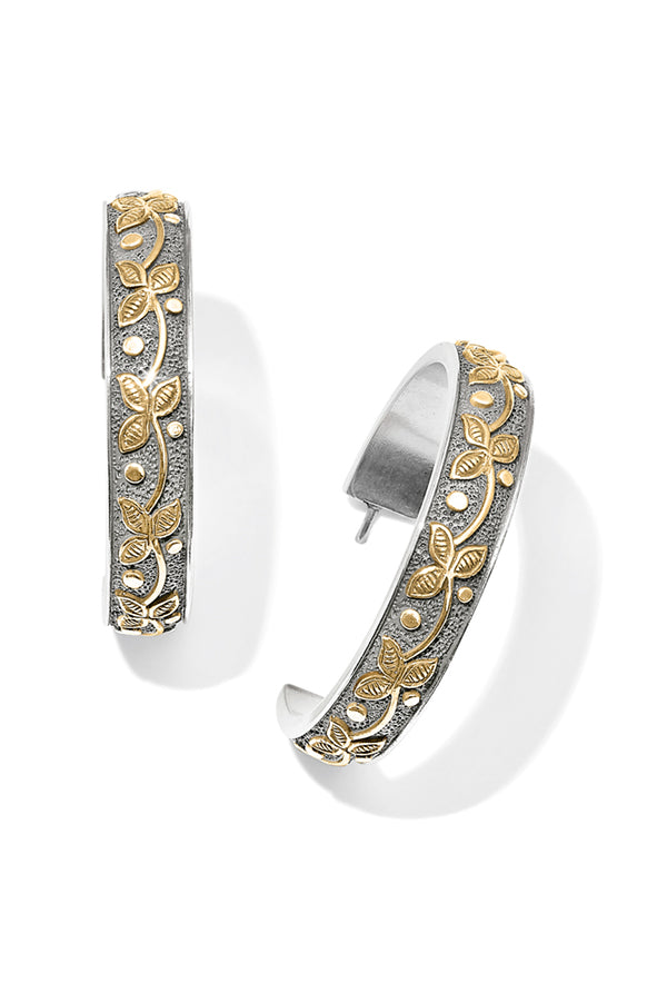 Hoop Earrings | Udaipur Palace Two Tone