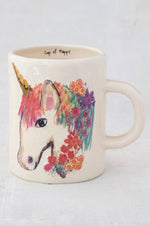 Embossed Mug | Unicorn
