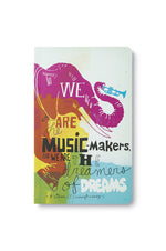 Write Now Journal | We Are The Music Makers