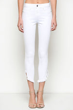 High Rise Skinny Jeans | White