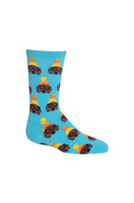 Kids Crew Socks | Winter Dogs