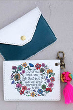 Card Holder | Wise Girl Once Said
