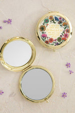 Compact Mirror | A Wise Girl