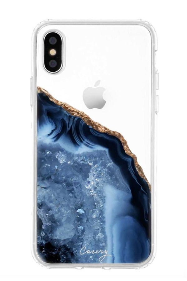 Protective Phone Cases | Dark Blue Agate
