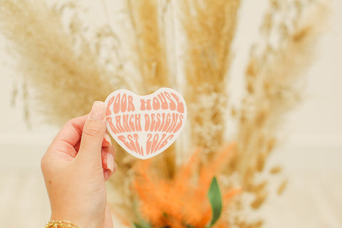 Heart Logo Sticker