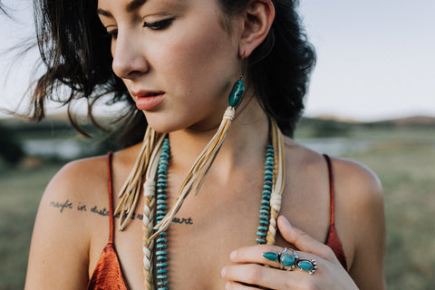 The Lawton Earrings Turquoise