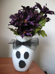 DIY Halloween Flowers