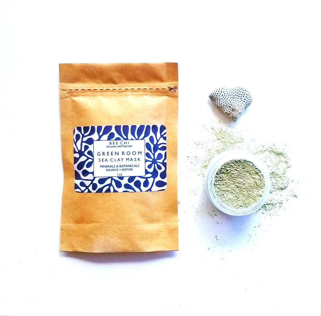 Green Room Sea Clay Mask