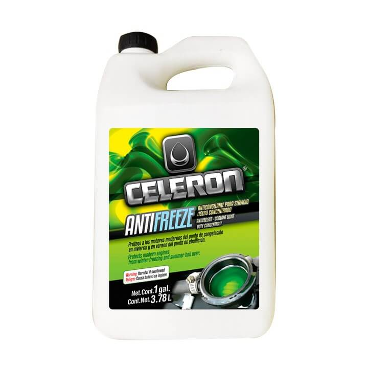 Antincongelante Concentrado Celeron 70/30 3.78 ML CEMEX Supply