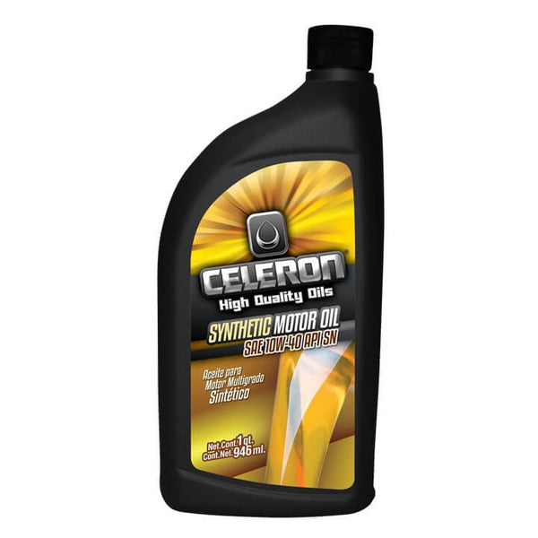 Aceite Celeron 10W-40 SN Semi-sintético 946 ML CEMEX Supply