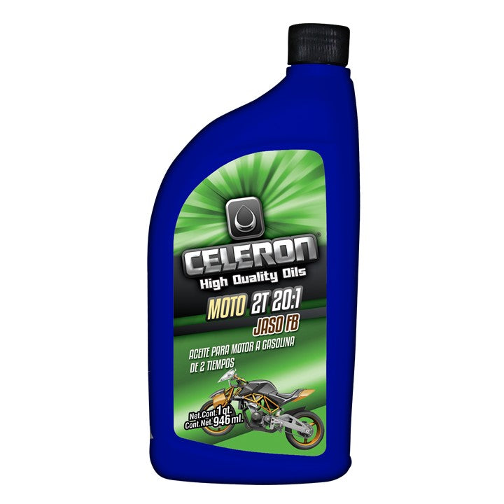 Aceite Celeron Moto 2T 20:1 Jaso FB 946 ML CEMEX Supply