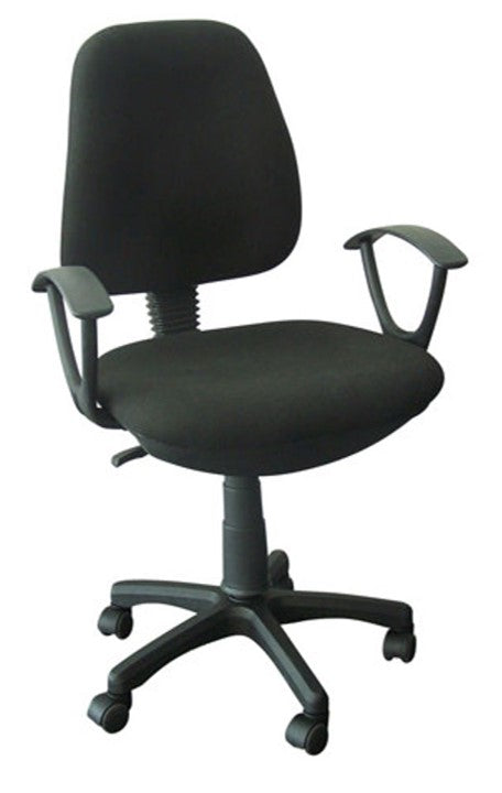 Silla Secretarial Michigan Negro