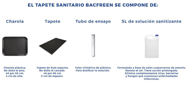 Kit de Tapete Sanitario