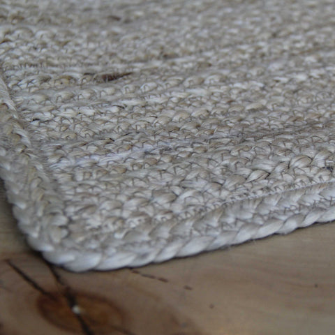 Jute Bathmat White